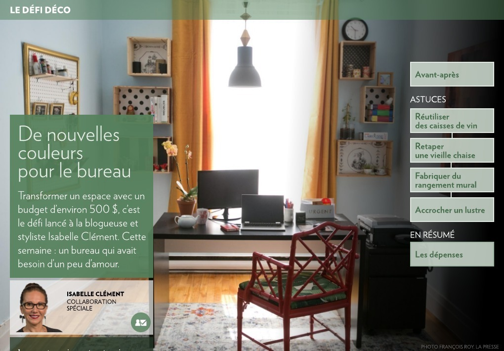 de nouvelles couleurs pour le bureau la presse. Black Bedroom Furniture Sets. Home Design Ideas